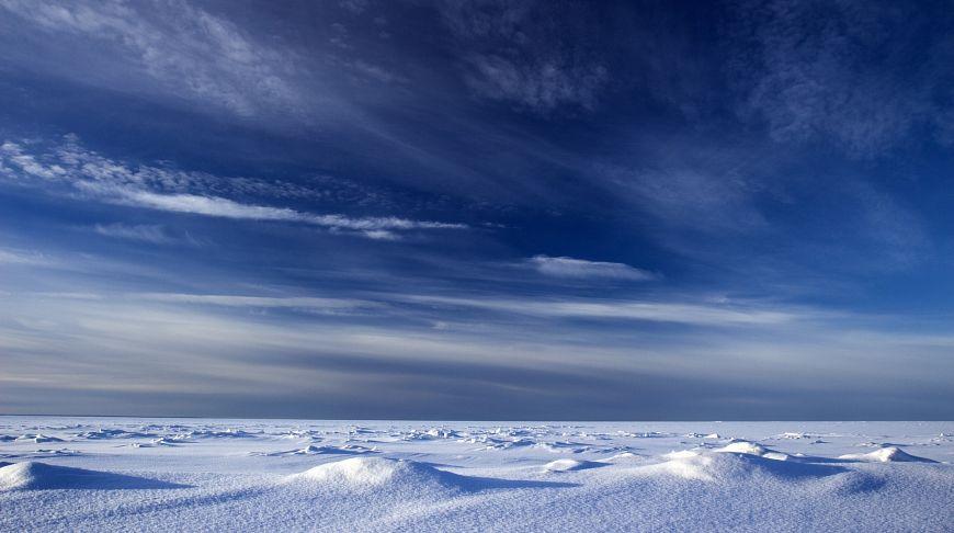 лед и российское небо