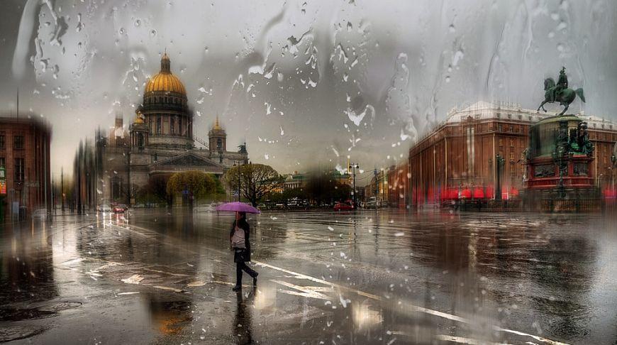 Питер во время дождя