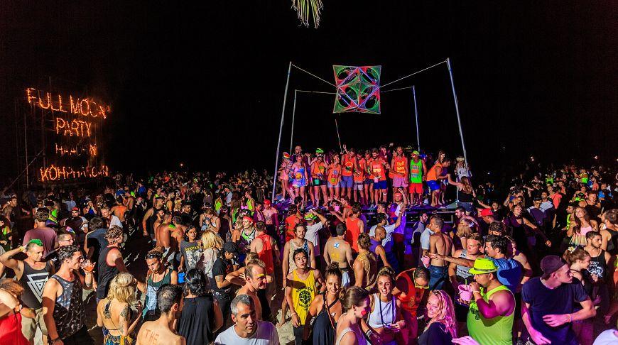 вечеринки в Тайланде