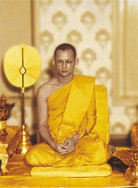 король Тайланда буддист