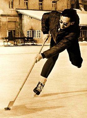 король на коньках