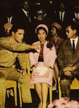 Элвис Пресли и король Таиланда