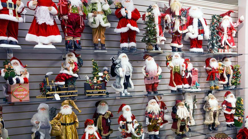 Игрушки Санта-Клауса