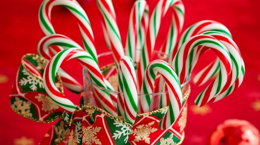 Рождественские леденцы