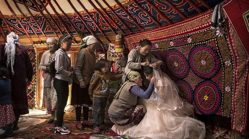 казахские обряды в картинках помогает производить
