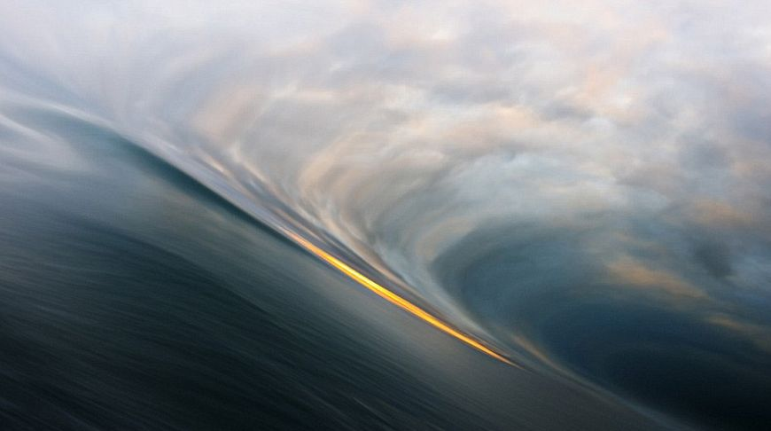Волны в заливе Диско