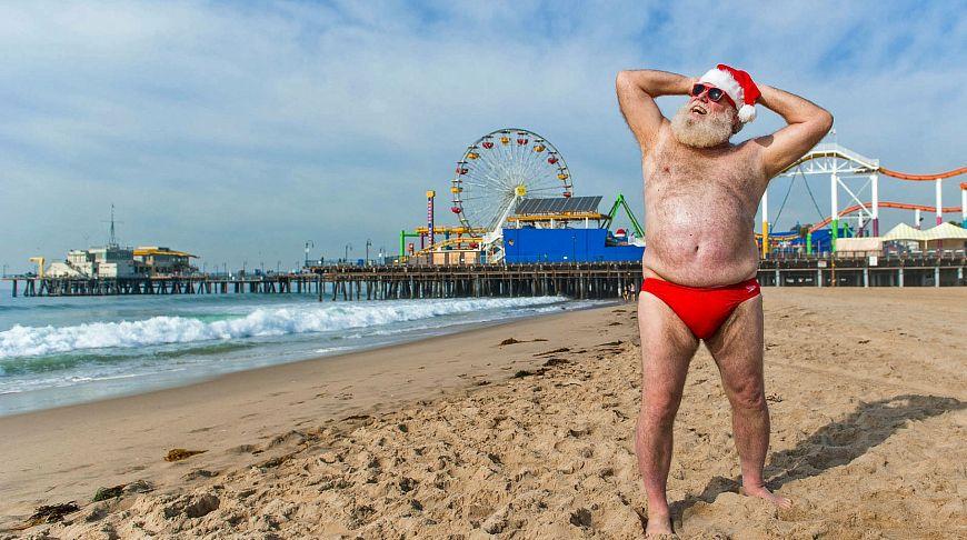 Рождество без снега, или Как сейчас выглядит Санта