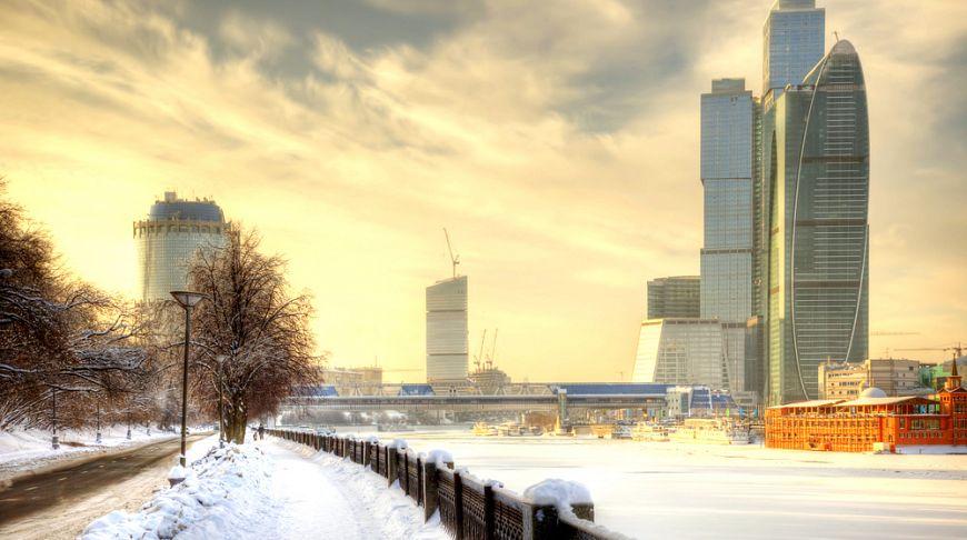 фото москва зимняя