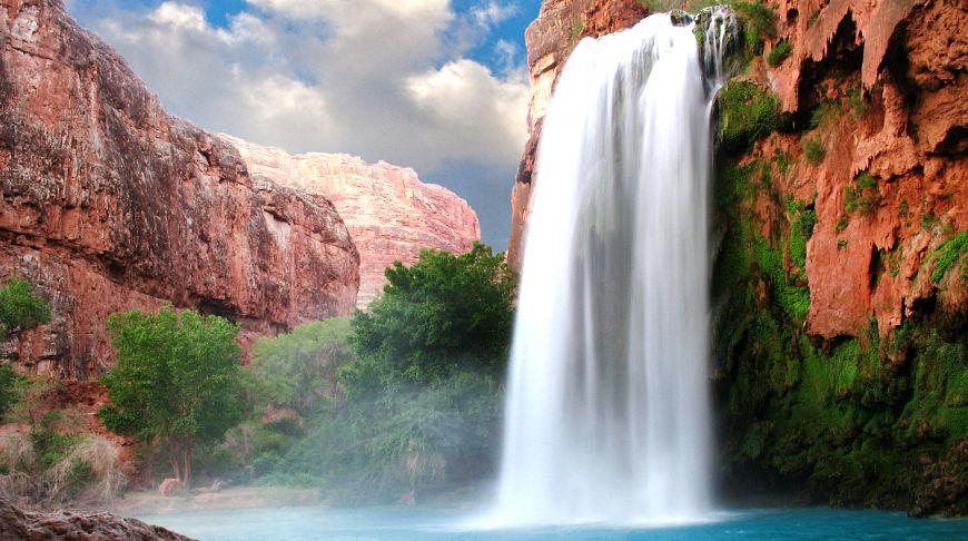 фото водопадов мира