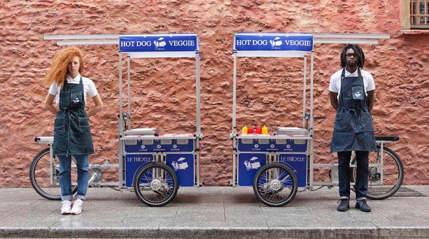 Уличная еда на колесах