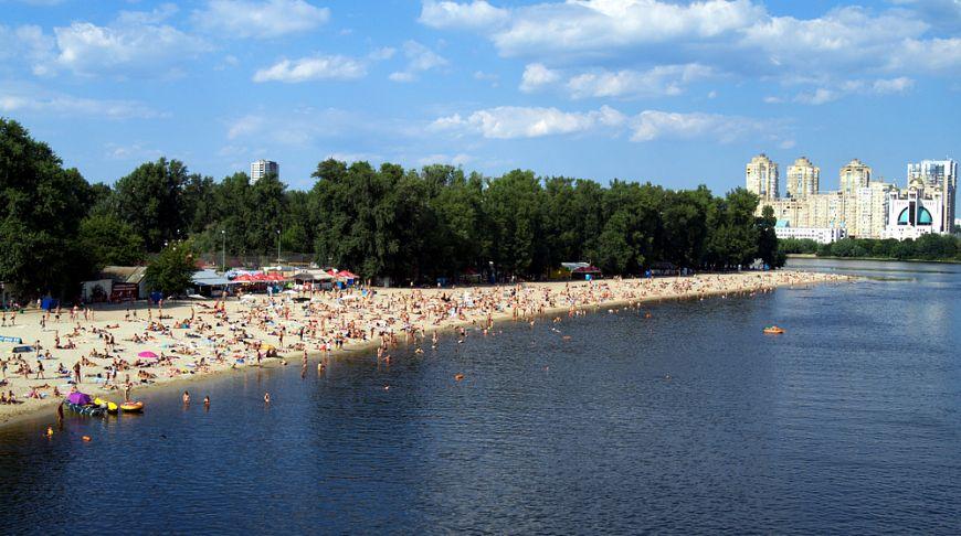 пляжи киева где можно купаться