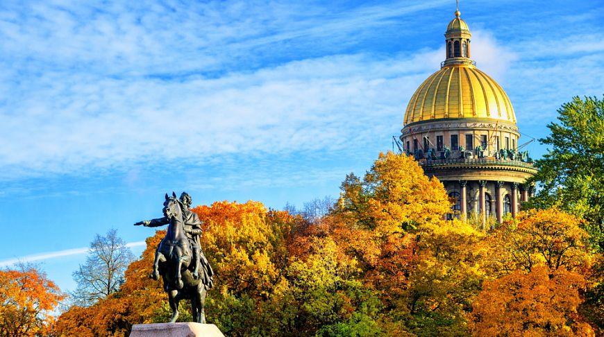 фото осень в петербурге