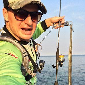 Секс на рыбалке сети море