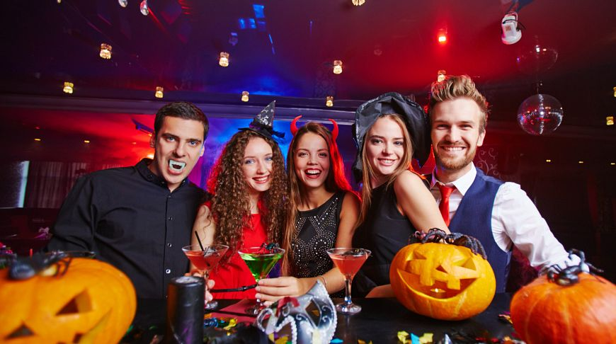 Halloween house party games for adults