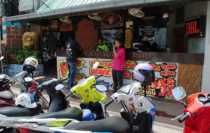 аренда мотоцикла в тайланде