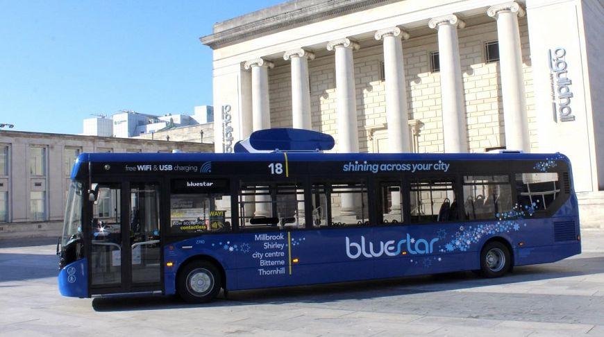 Картинки по запросу В Британии запустили автобус, очищающий воздух