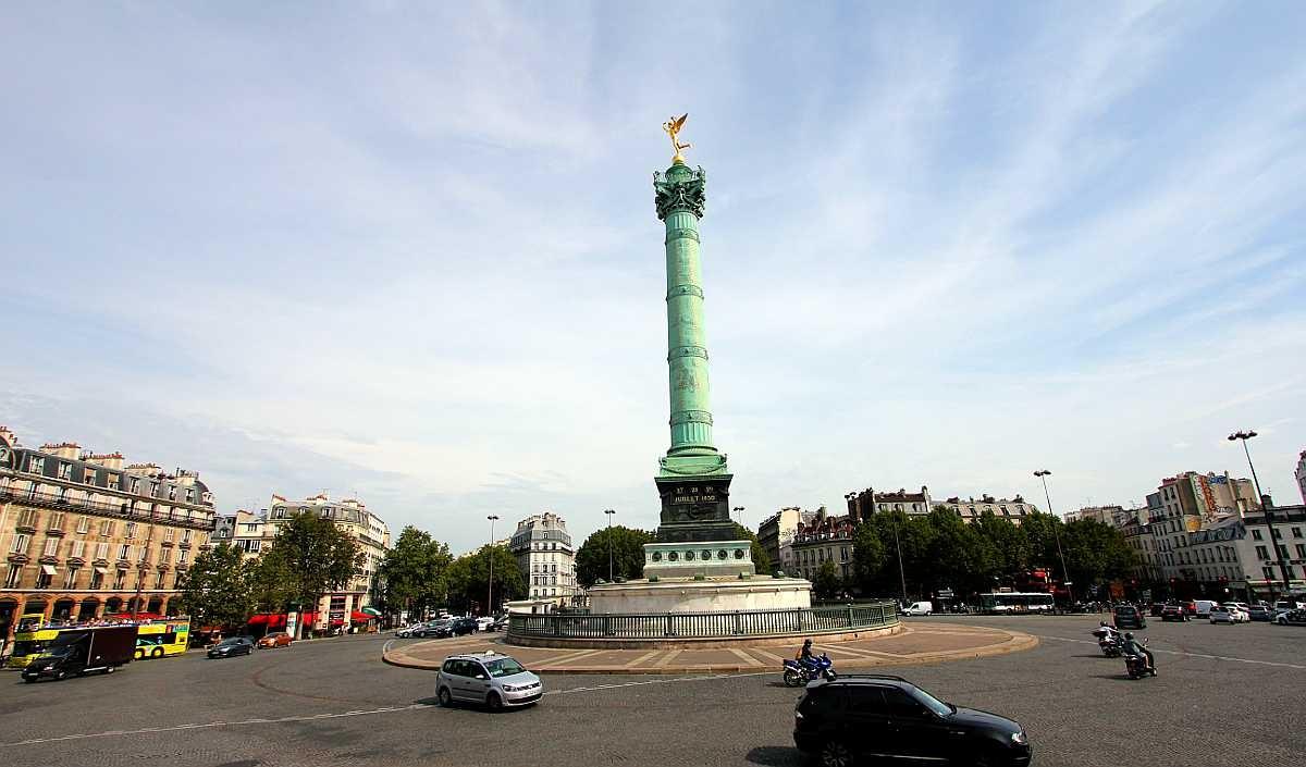 Image result for Площадь Бастилии La place de la Bastille