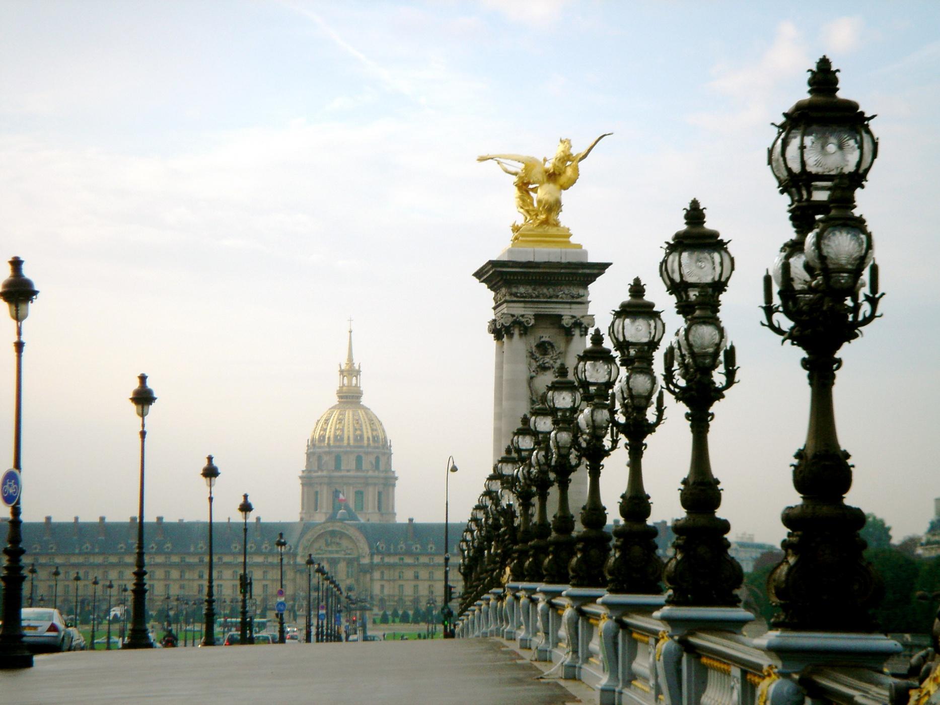 c3407ae7cc696a25a13bb6124e273737 Париж. Легендарный Мост Александра III.