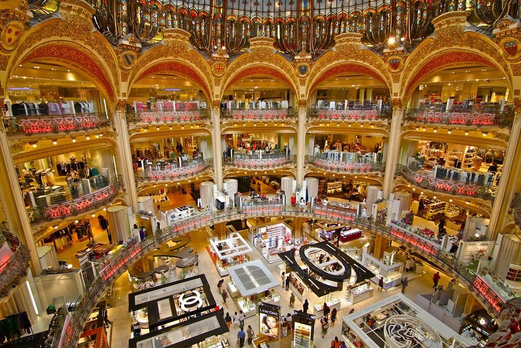 доставка товаров интернет магазин Galeries Lafayette в париже