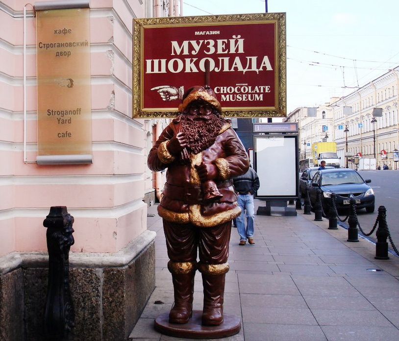 Шоколадные предметы фото