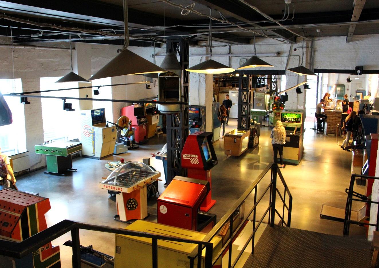 музей игровых аппаратов