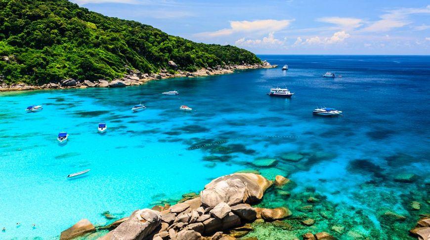 Симиланские острова вошли в число красивейших мест Азии