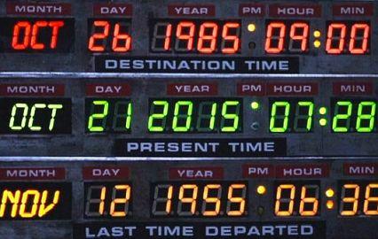 Сегодня - «тот самый день», когда наступило будущее