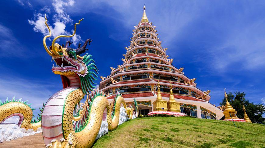 Храм Wat Hyua Pla Kang Чианграй