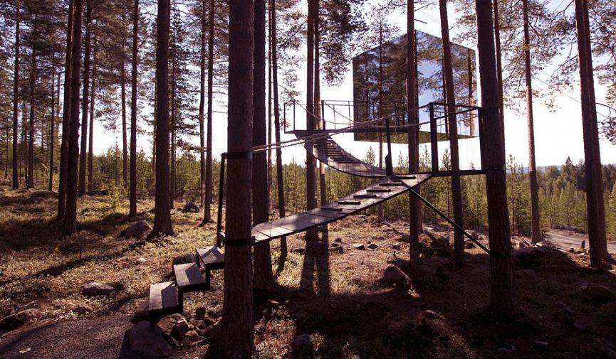 Нереальная реальность: 12 отелей из будущего, которое уже наступило
