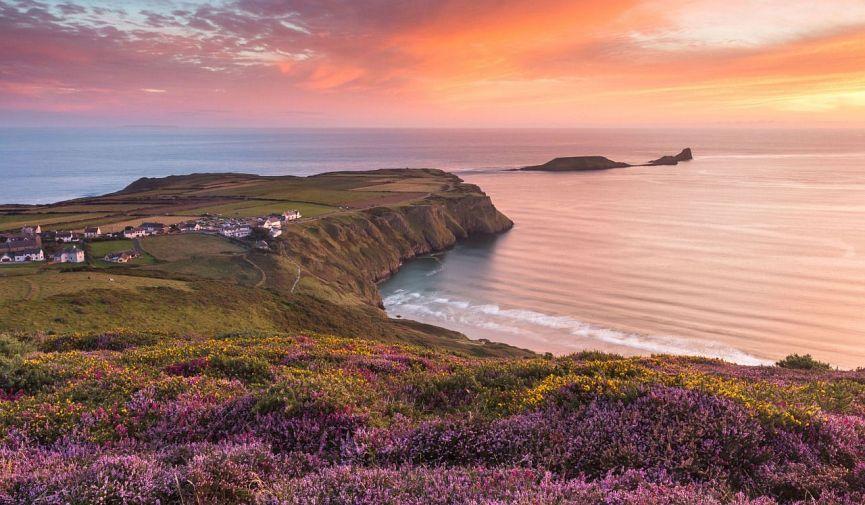Море, песок и… туман: 6 лучших пляжей Соединенного Королевства