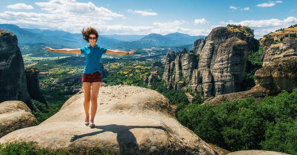 Экстремальный отдых: как оригинально и активно провести отпуск в Греции