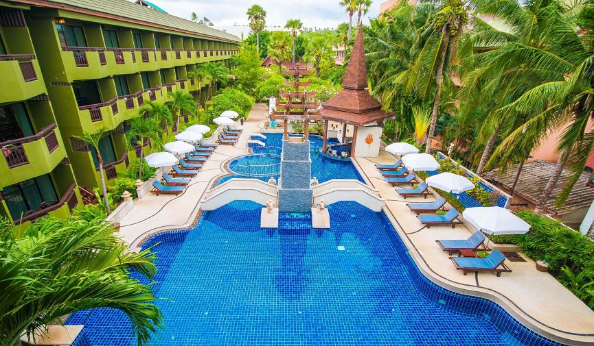 Phuket Island View Hotel: роскошный отдых на берегу Андаманского моря