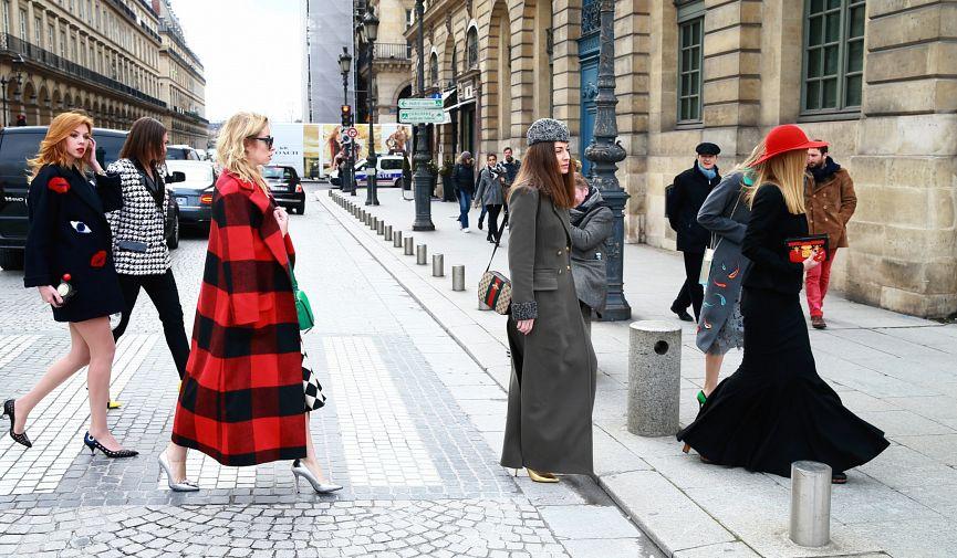 Модный Париж: 30 зимних стрит-луков от парижских фешн-блогеров