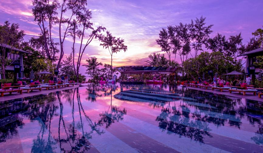 Отдых мечты в Таиланде — отель и пляжный клуб Baba Beach Club на пляже Натай