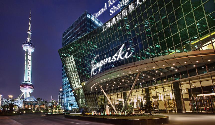 Grand Kempinski Hotel Shanghai — европейское качество, восточный шик